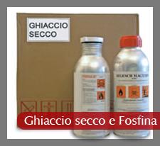Ghiaccio secco e Fosfina