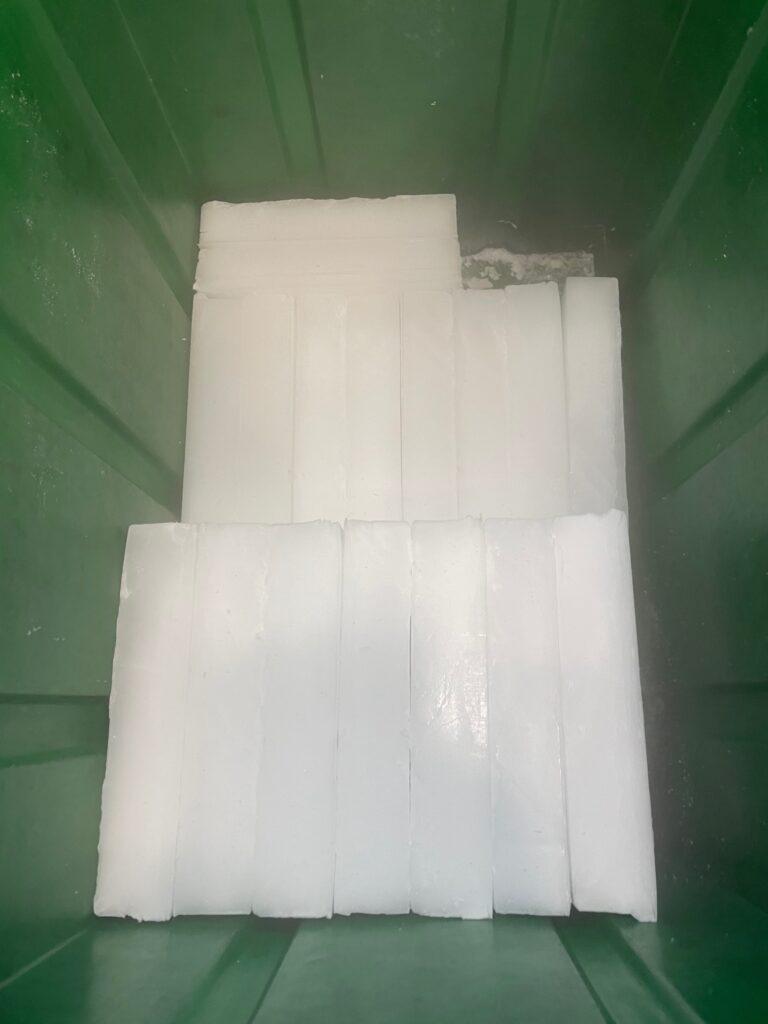 Ghiaccio secco 12,5 cm x 24,5 cm
